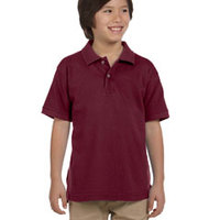 Youth 6 oz. Ringspun Cotton Piqué Polo