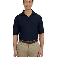 5.6 oz. Easy Blend™ Polo with Pocket