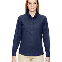 Ladies' Paramount Wrinkle-Resistant Twill Checkered Shirt
