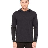 Hooded Long Sleeve T Shirt