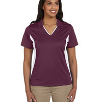 Ladies' Side Blocked Micro-Piqué Polo