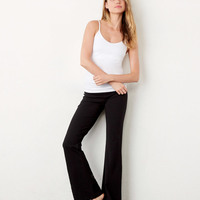 Ladies' Cotton/Spandex Fitness Pants