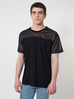 RSA2419 Fine Jersey Athletic T w/ Poly Mesh