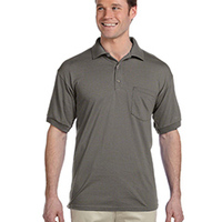 DryBlend Jersey Polo with Pocket