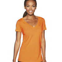 Ladies' Poly Blend Deep V