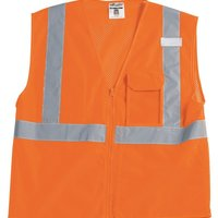 ID Vest with Zipper Closure