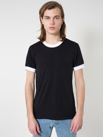 BB410 Poly-Cotton S/S Ringer T-Shirt
