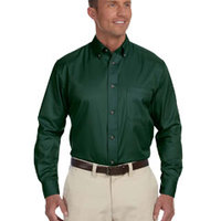 Men's Easy Blend™ Long-Sleeve Twill Shirt
