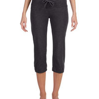 Ladies Capri Scrunch Pant
