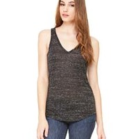 Ladies' Flowy V-Neck Tank