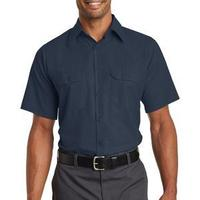 Short Sleeve Solid Ripstop Shirt