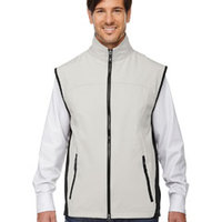 Men's Three-Layer Performance Soft Shell Vest