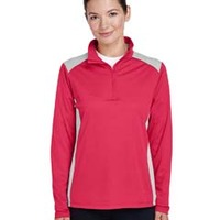 Ladies' Excel Mélange Quarter-Zip