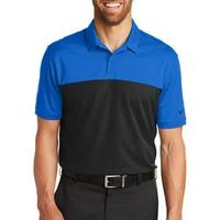 Golf Dri FIT Colorblock Micro Pique Polo