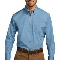 Long Sleeve Carefree Poplin Shirt