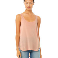 Ladies' Flowy Side Slit Tank