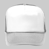 Classic Trucker with White Front Panel